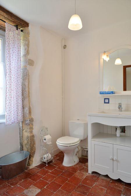 Guest room 1 bathroom.